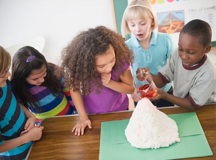 Remember how fun model volcanoes were as a kid?