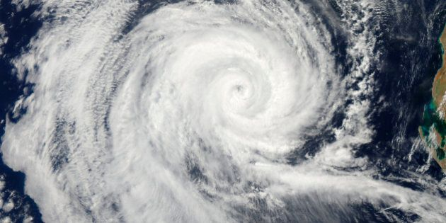 February 20, 2011 09/14/2009 The eye of Severe Tropical Cyclone Dianne swirled in the Indian Ocean as...