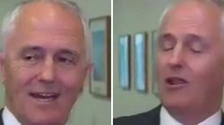 Malcolm Turnbull Was Really, Really Happy Laurie Oakes Asked A
