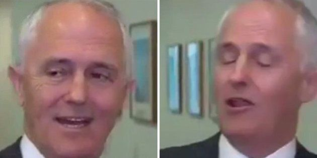 Malcolm Turnbull Happy To Be Asked A Question By Laurie