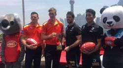 The AFL's Trip To China Just Keeps Getting