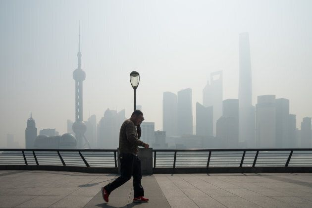 Smog in China. Who'd a thunk