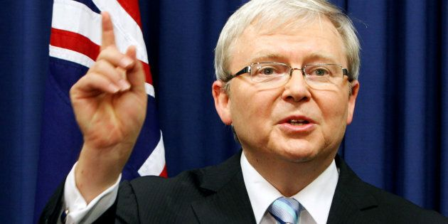 Kevin Rudd won't be nominated as UN