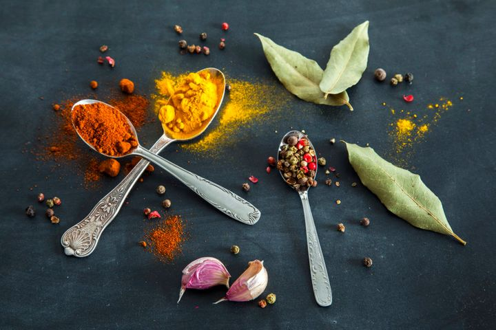 Add colour, flavour and life to your meals with spices and herbs.