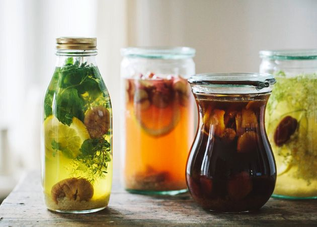 Kombucha is a fermented, naturally fizzy and delicious