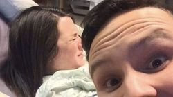 'Brave' Man Took Selfie While His Wife Was Giving Birth In