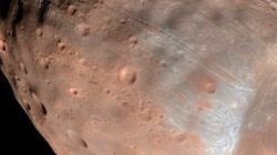 Mars Is Literally Ripping One Of Its Own Moons