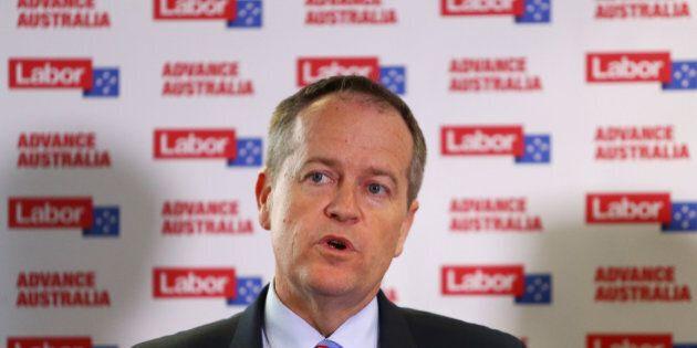 SYDNEY, AUSTRALIA - SEPTEMBER 24: Australian Opposition Leader Bill Shorten during a media conference...