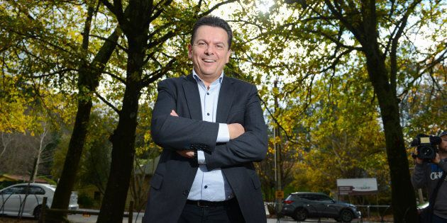 Nick Xenophon says some video games are setting teens up for gaming