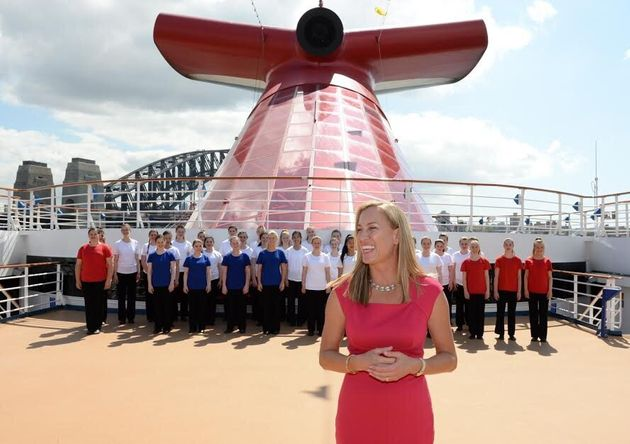 Jennifer Vandekreeke, Carnival Cruise Lines Australia, said they learnt the hard way how important it...