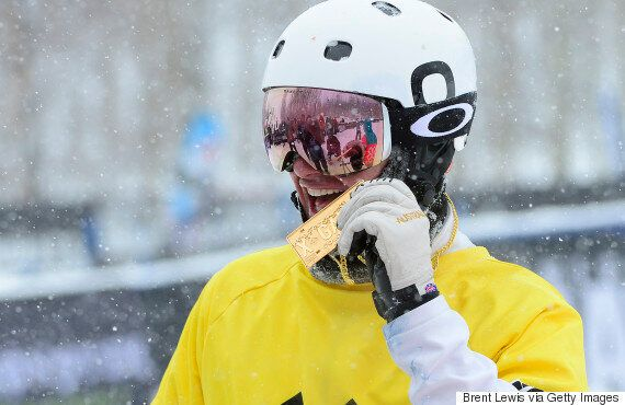 Jarryd Hughes Wins X Games Gold In Boardercross And Is Really, Really