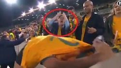 This Girl Screaming When She Missed Out On Socceroo's Shirt Is
