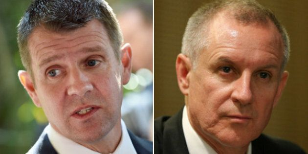 Premiers Mike Baird and Jay Weatherill Unite To Promote Controversial Rise In The