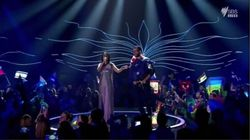 Eurovision's 'Mooning Man' Is Not