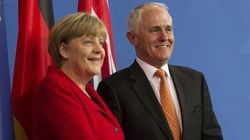 Malcolm Turnbull, Angela Merkel Meet In