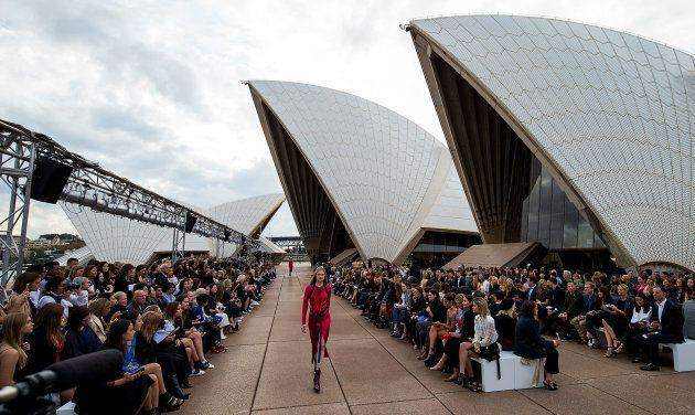 Dion Lee Kicks Off Fashion Week At The Opera
