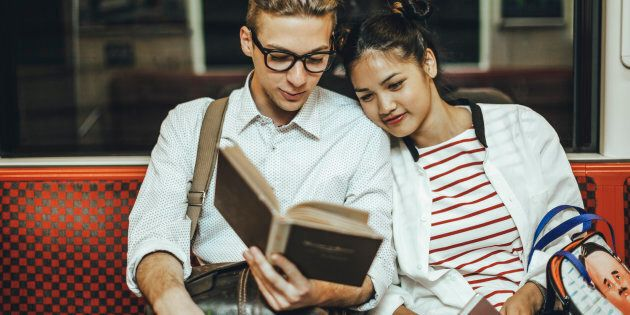 Not every person who loves romance novels are single women with homes filled with