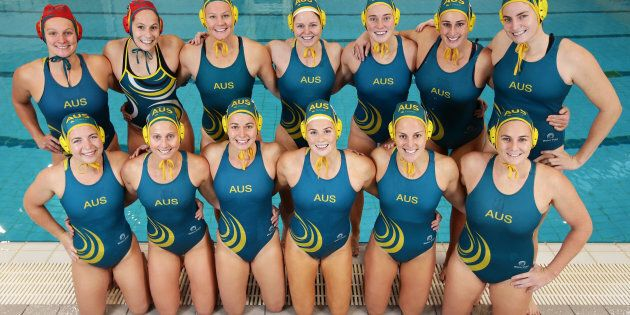 The Australian women's Olympic water polo team have been struck by a