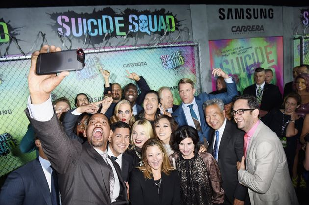 Say cheese: Will Smith takes an epic group