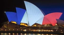 We Stand With France: Australia Drapes Itself In Blue, White And Red In Support Of