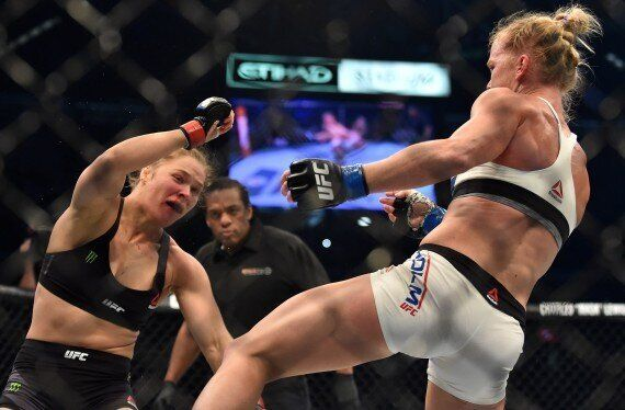 Ronda Rousey Beaten By Holly Holm At UFC 193 In