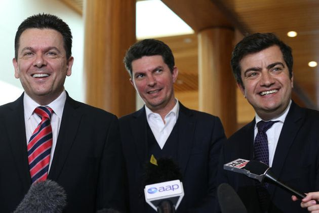 Senators Sam Dastyari, Scott Ludlam and Nick Xenophon establish a Senate Select Committee on the Future...
