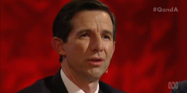 Education Minister Simon Birmingham Heckled Over Proposed Higher Education