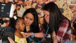 Emotional Moment Mother Hears Late Son's Heart Beating In Transplant Recipient's