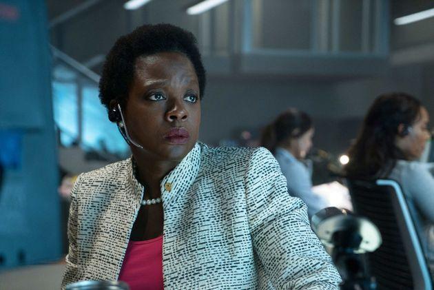 Viola Davis as the movie's real villain, Amanda