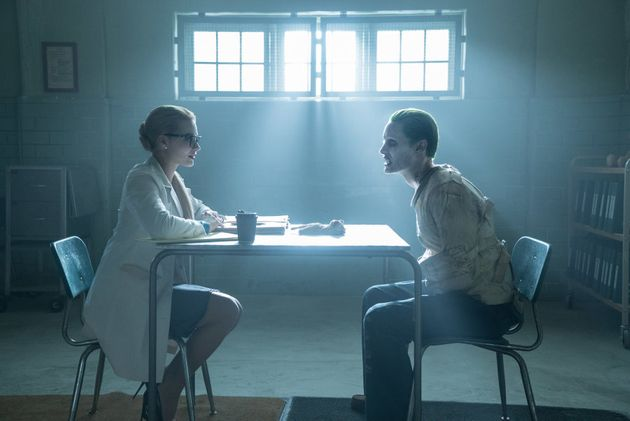 Robbie and Leto in 'Suicide