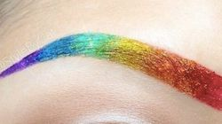 Rainbow Eyebrows Are Unicorn Emoji's For Your