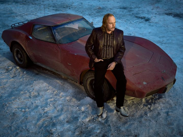 So the car is a Corvette and the series is set in Minnesota and Prince was from Minnesota and he sang Little Red Corvette and, um, yeah.
