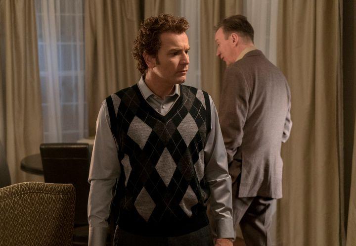 Nice sweater, Ewan.