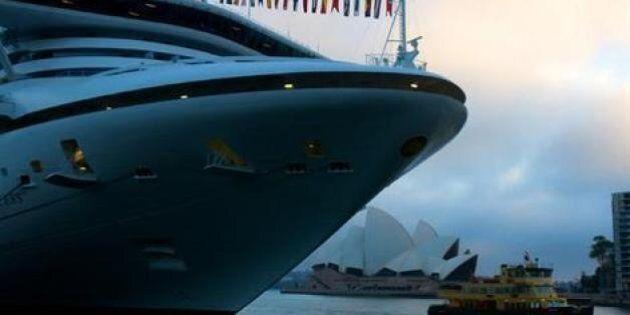 Diamond Princess Cruise Ship Struck With