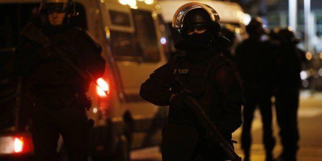 Police operation in Saint-Denis, near Paris on November 18, 2015, five days after Paris terror attacks....