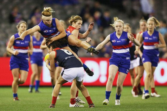 AFL VIC Women's Academy Honing Skills For The