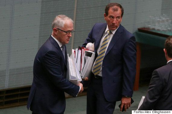Turnbull Stands By Brough After AFP Searches His