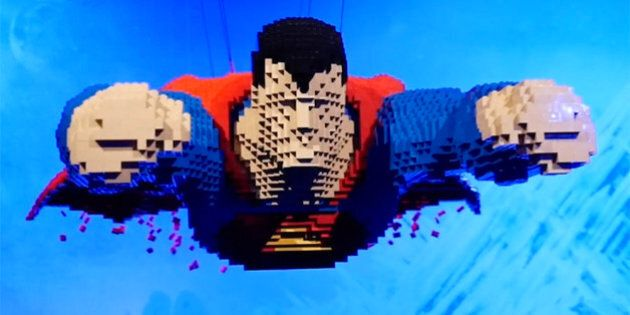 LEGO Takes On Superhero Form In 'The Art Of The Brick: DC Comics'