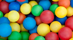 A Giant Ball Pit For Adults Is