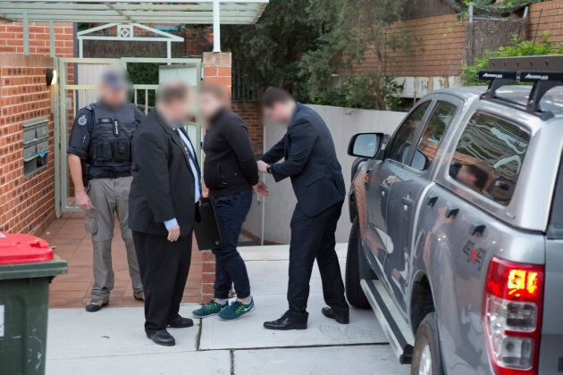 The ATO chief's son Adam Cranston, 30, was arrested outside his Bondi home on