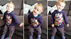 This Happy Dancing Two-Year-Old Will Break Your