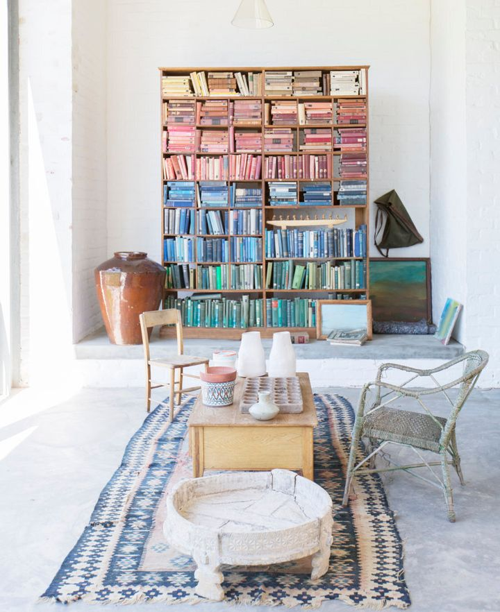 Bookshelf goals.