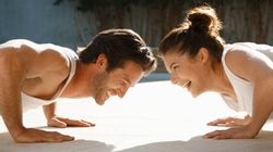 How To Exercise As A Couple (Disclaimer: It's Not For
