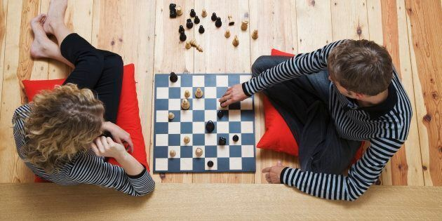 Chess, the game for couples who are certain their relationship is very