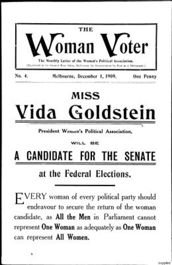 Vida Goldstein: The Woman Who Won The Right To Vote In