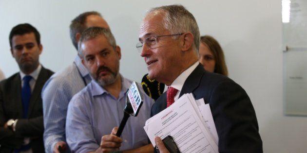 Malcolm Turnbull Leaks His Own Secret