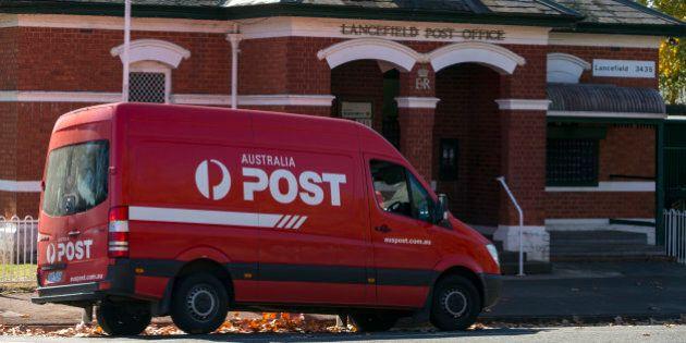 Postal service in a small Victorian