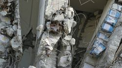 Oil Cans Spotted In Pillars Of Collapsed Taiwan Building, Questions Over