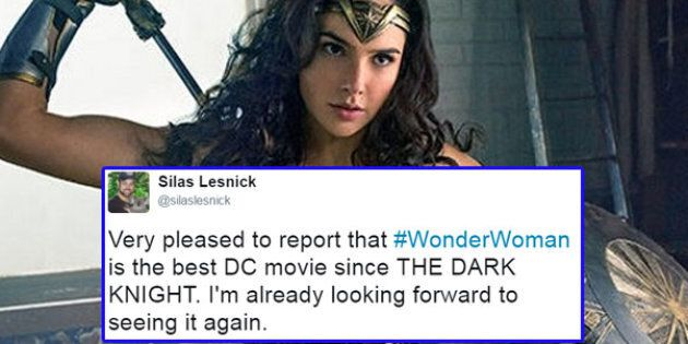 The First 'Wonder Woman' Reactions Are Out And Things Are Looking