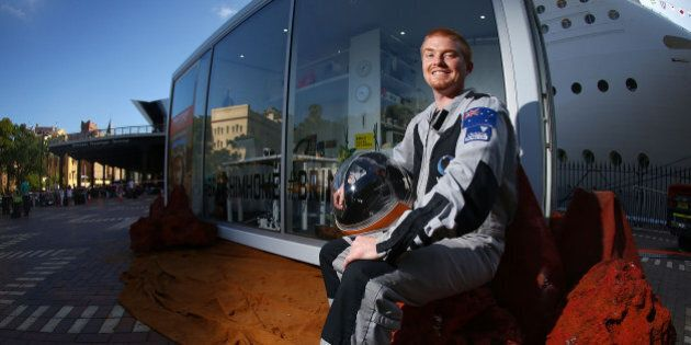 Aussie Astronaut Lives Like A Martian, Plans To Move To